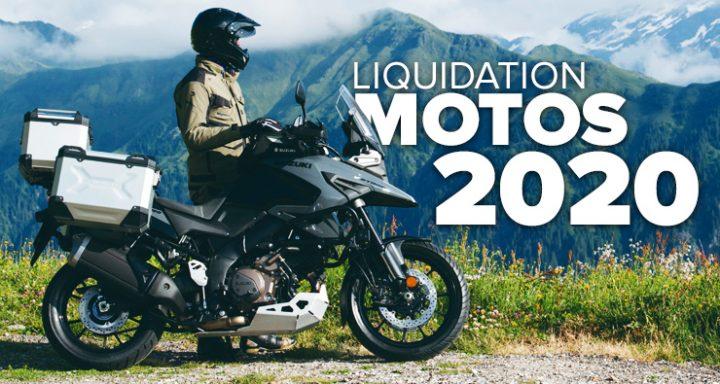 Liquidation sur les motos 2020