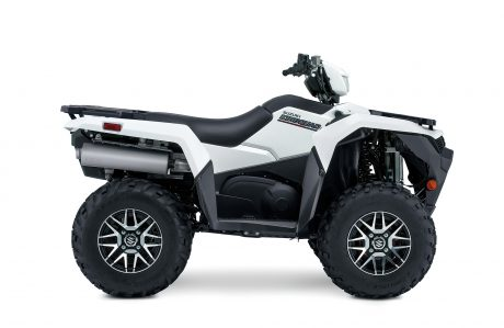 Suzuki KINGQUAD 500XPZ LT-A500XPZ: Solide Spécial Blanc, Roues Mag 2022
